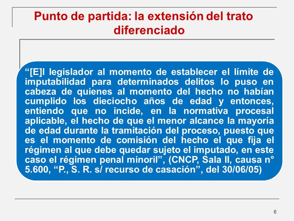 187 Límite inferior de la escala punitiva ¿Cuán cerca de la no imposición de pena debe estar la pena reducida por debajo de la tentativa en relación a la no aplicación de penas cortas.