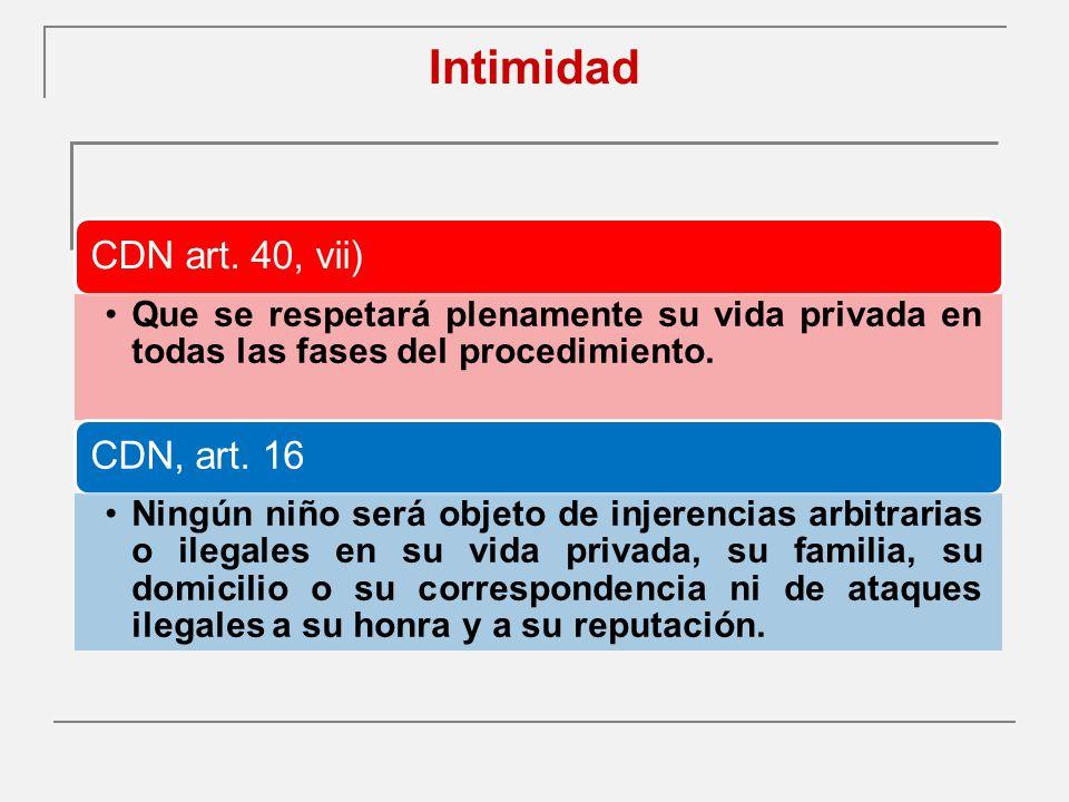 Intimidad CDN art.