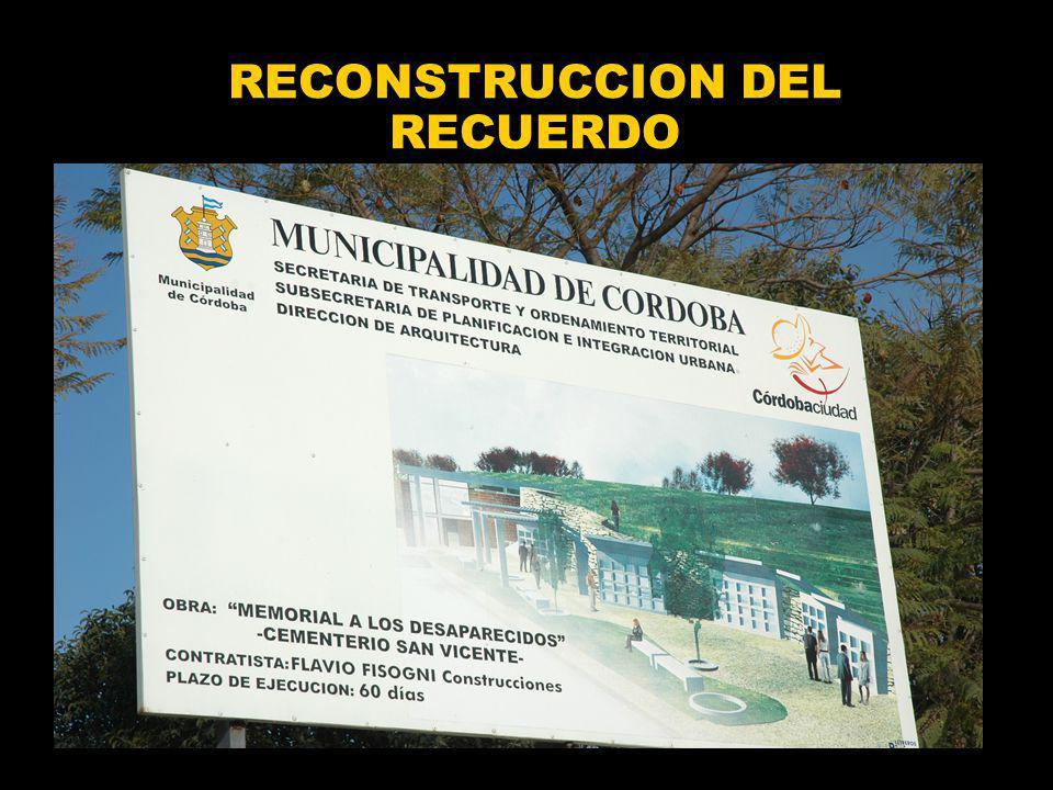 RECONSTRUCCION DEL RECUERDO