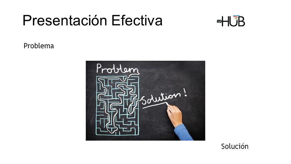 Problema Solución Presentación Efectiva