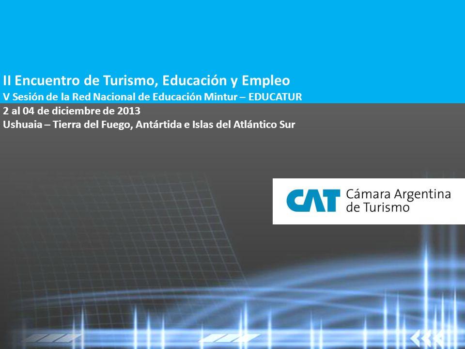 Nuevas experiencias, nuevos perfiles laborales CAMARA ARGENTINA DE TURISMO 11 ¿Y cuál es nuestro desafío como empleadores.