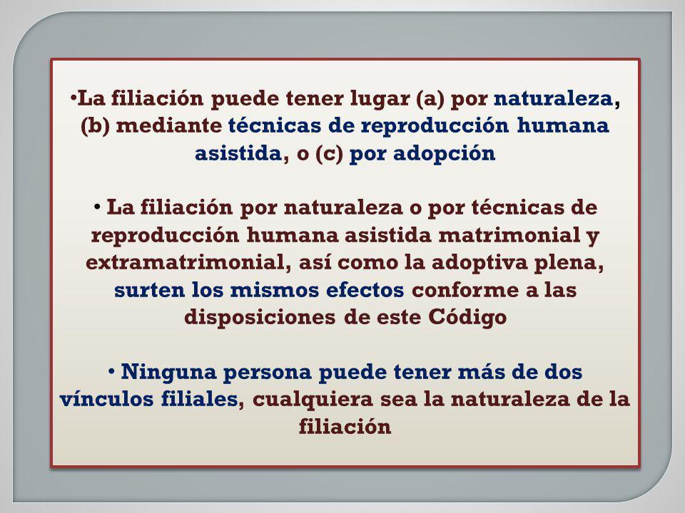 MATRIMONIAL EXTRAMATRIMONIAL Art. 242, CC s/texto ley 24.540. Ley 26.413 DETERMINACIÓN LEGAL