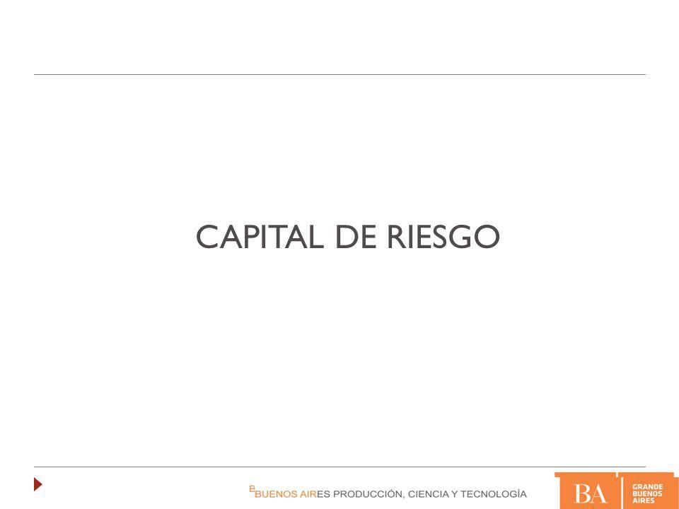 La inversión en Capital de Riesgo es una modalidad en la que un inversor profesional realiza inversiones en Compañías con un alto potencial de crecimiento, instrumentadas a través de la compra de un porcentaje (generalmente minoritario) de participaciones accionarias que no cotizan en el mercado, con la expectativa de obtener, dentro de un determinado plazo (de 5 a 10 años) altas rentabilidades (generalmente superiores al 25%).