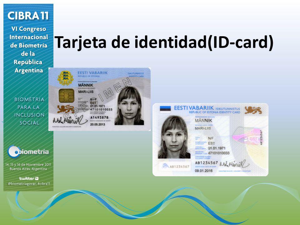 Tarjeta de identidad(ID-card)