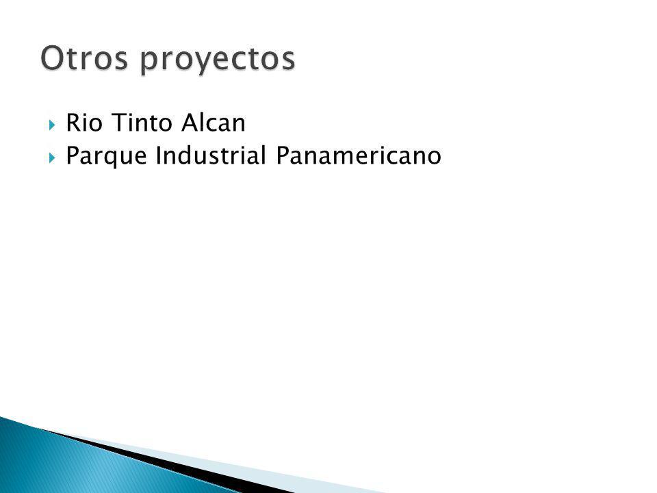 Rio Tinto Alcan Parque Industrial Panamericano