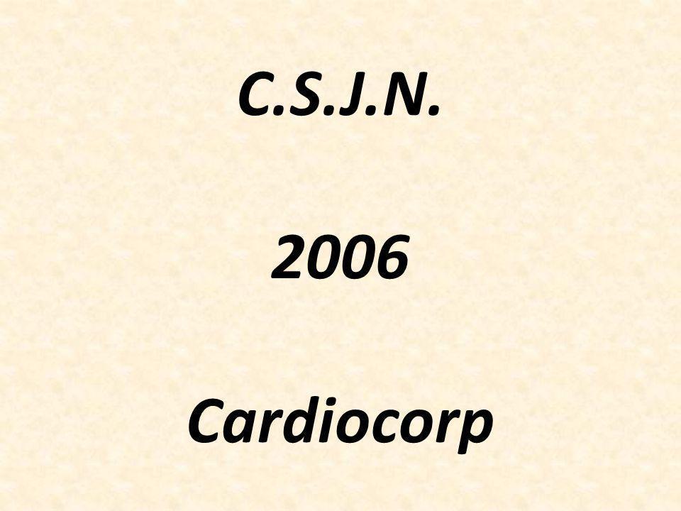 C.S.J.N. 2006 Cardiocorp