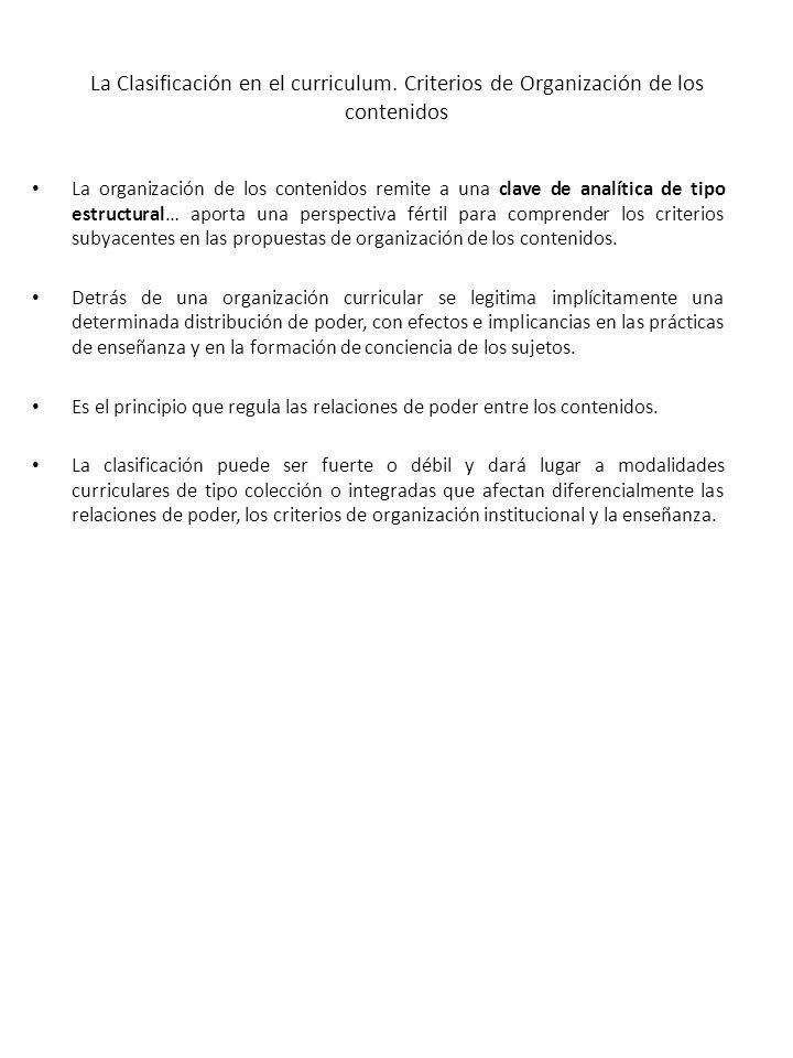 Los Conocimientos Escolares Legítimos.