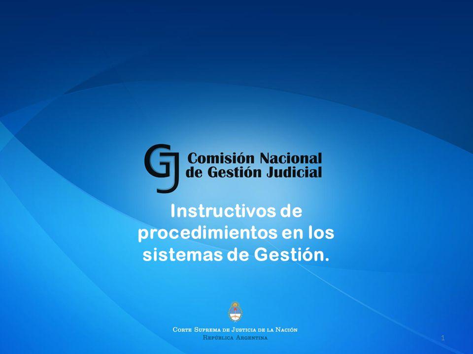 Instructivos de procedimientos en los sistemas de Gestión. 1
