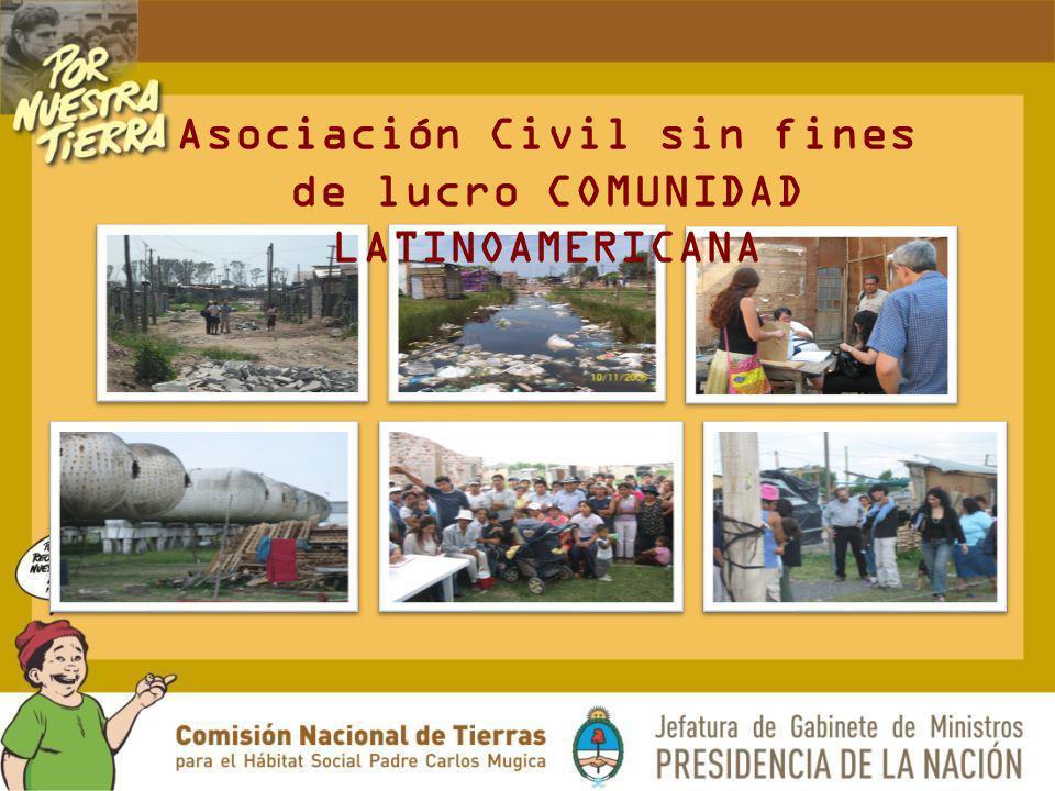 Asociación Civil sin fines de lucro COMUNIDAD LATINOAMERICANA
