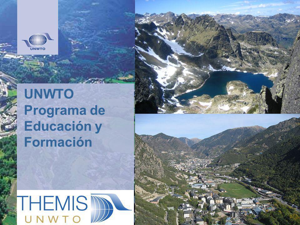 UNWTO Programa de Educación y Formación