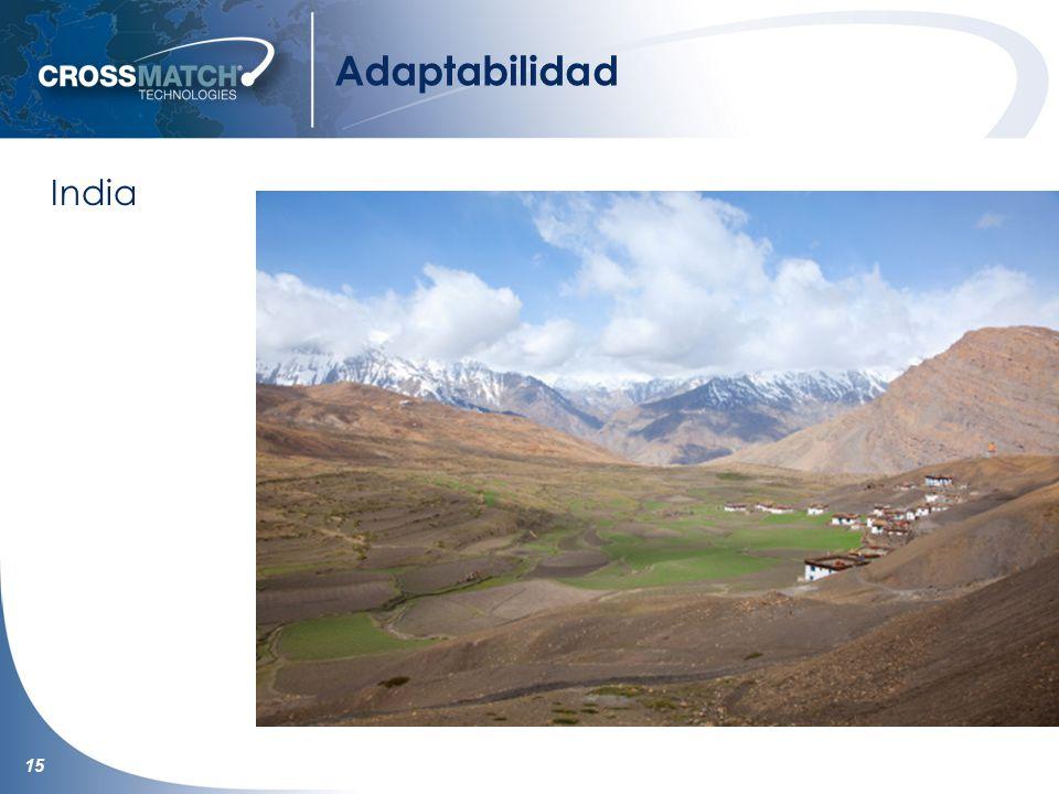 15 Adaptabilidad India