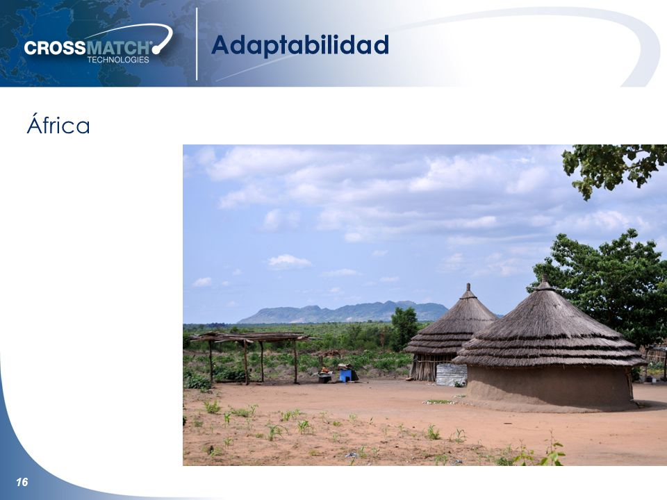 16 Adaptabilidad África