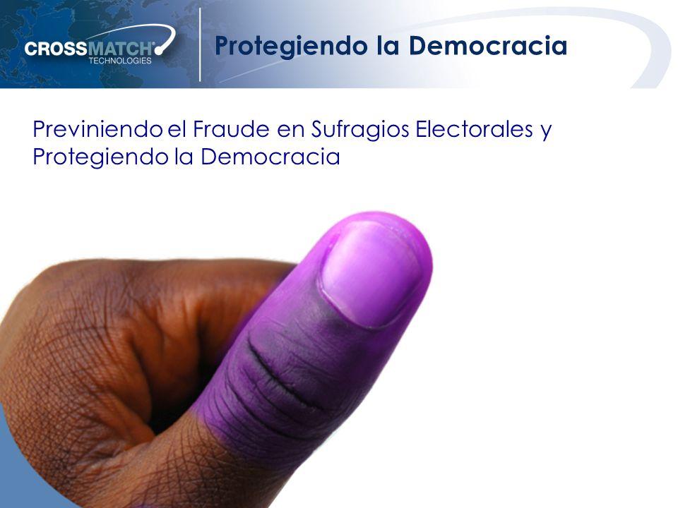6 Protegiendo la Democracia Previniendo el Fraude en Sufragios Electorales y Protegiendo la Democracia