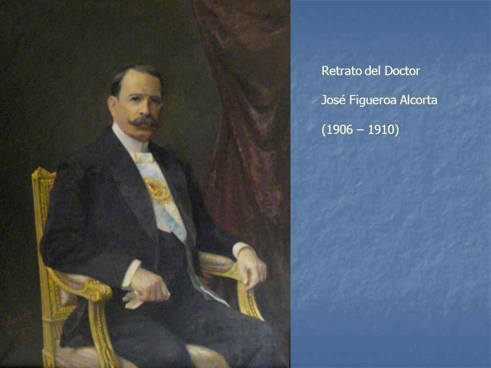 Retrato del Doctor José Figueroa Alcorta (1906 – 1910)