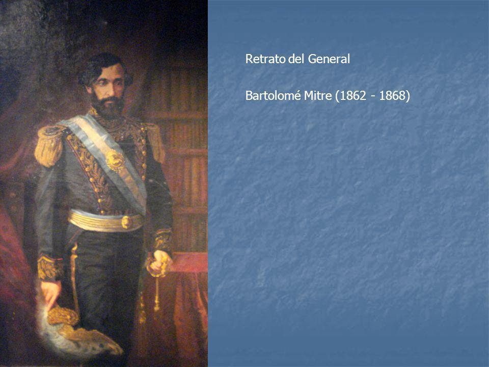 Retrato del General Bartolomé Mitre (1862 - 1868)