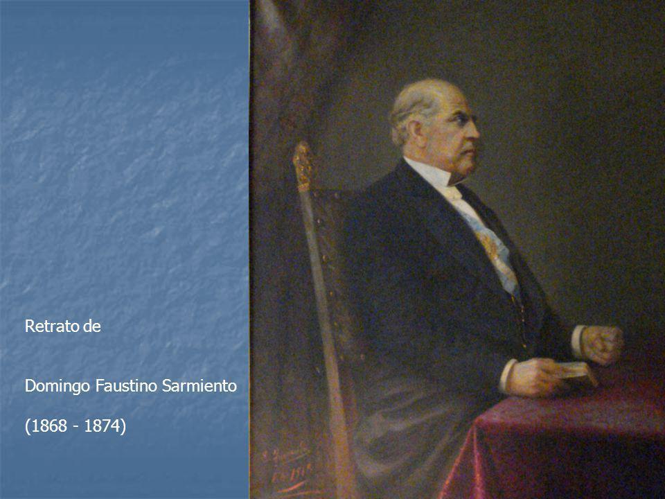 Retrato de Domingo Faustino Sarmiento (1868 - 1874)