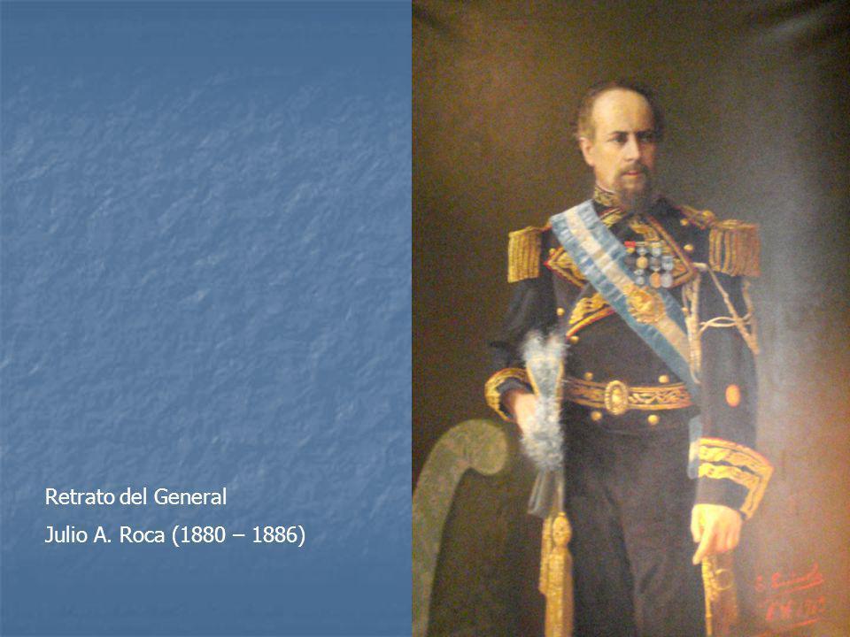 Retrato del General Julio A. Roca (1880 – 1886)