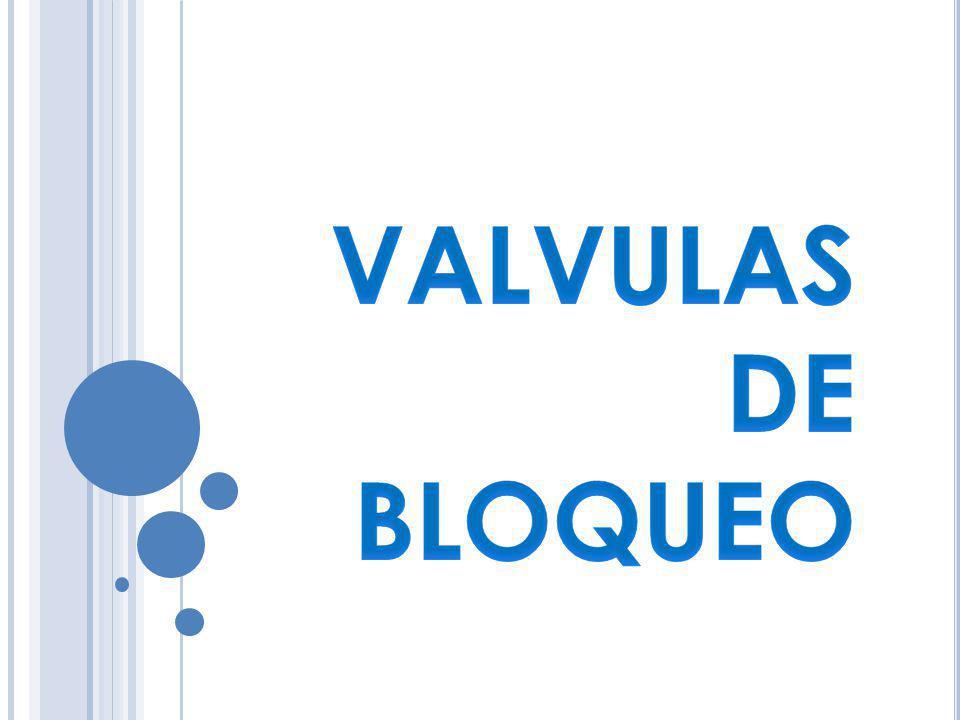 http://www.monografias.com/trabajos11/valvus/valvus.shtml http://www.spears.com/spanish/spanish_v4/046_VA_SP.pdf http://sitioniche.nichese.com/flujo-hidra.html http://industrial-automatica.blogspot.com/2010/09/valvulas-de- bloqueo.html http://industrial-automatica.blogspot.com/2010/09/valvulas-de- bloqueo.html http://sitioniche.nichese.com/valvula%20bloqueo.html http://www.hidranaven.com/pdf/presion.pdf http://es.wikipedia.org/wiki/V%C3%A1lvula http://sitioniche.nichese.com/valvulas-hidra.html