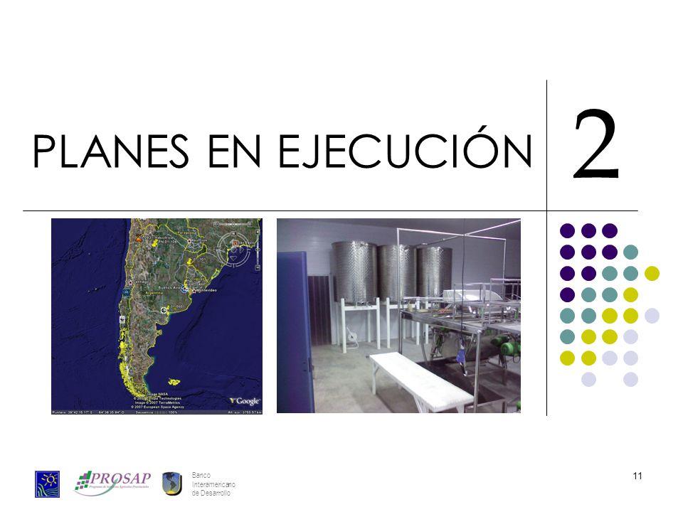 Banco Interamericano de Desarrollo 11 PLANES EN EJECUCIÓN 2
