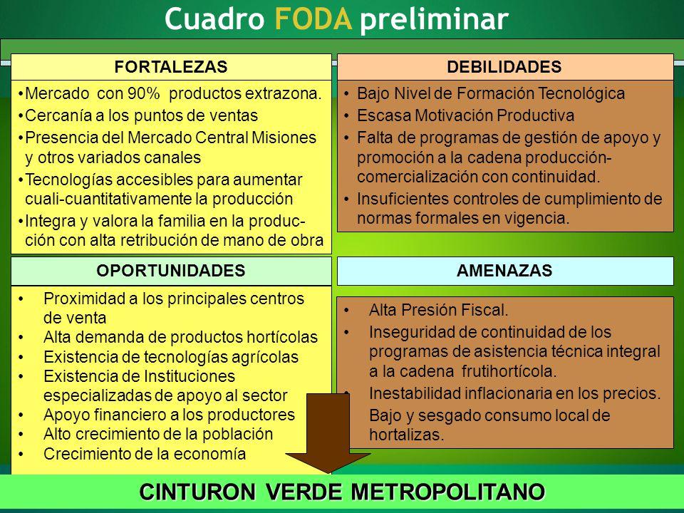 Factores Críticos preliminares y Acciones a Corto Plazo FACTORES CRÍTICOS DE DESARROLLO: Escasa Formación y Capacitación.