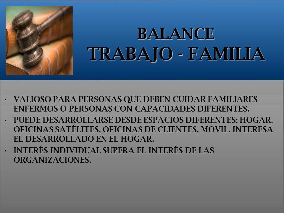 VALIOSO PARA PERSONAS QUE DEBEN CUIDAR FAMILIARES ENFERMOS O PERSONAS CON CAPACIDADES DIFERENTES. PUEDE DESARROLLARSE DESDE ESPACIOS DIFERENTES: HOGAR