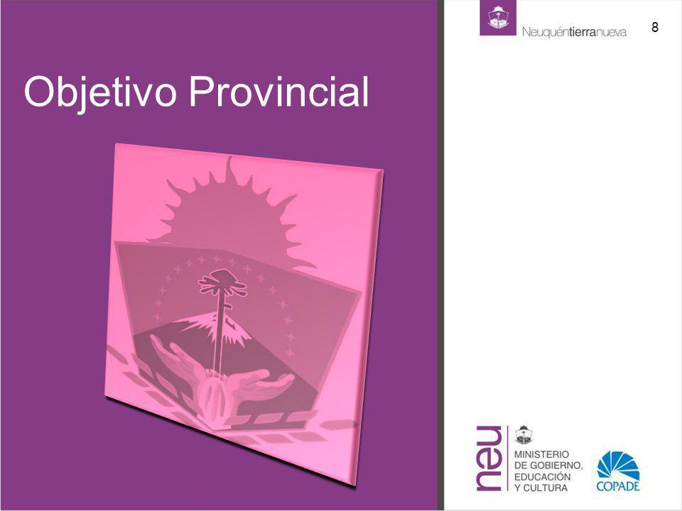 8 Objetivo Provincial