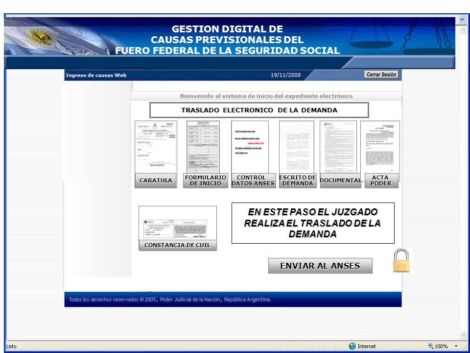 Juzgado Recibe la demanda de la Mesa receptora Base de Datos de la Cámara Demandas sorteadas En este momento se actualiza el INICIO DEL EXPEDIENTE par