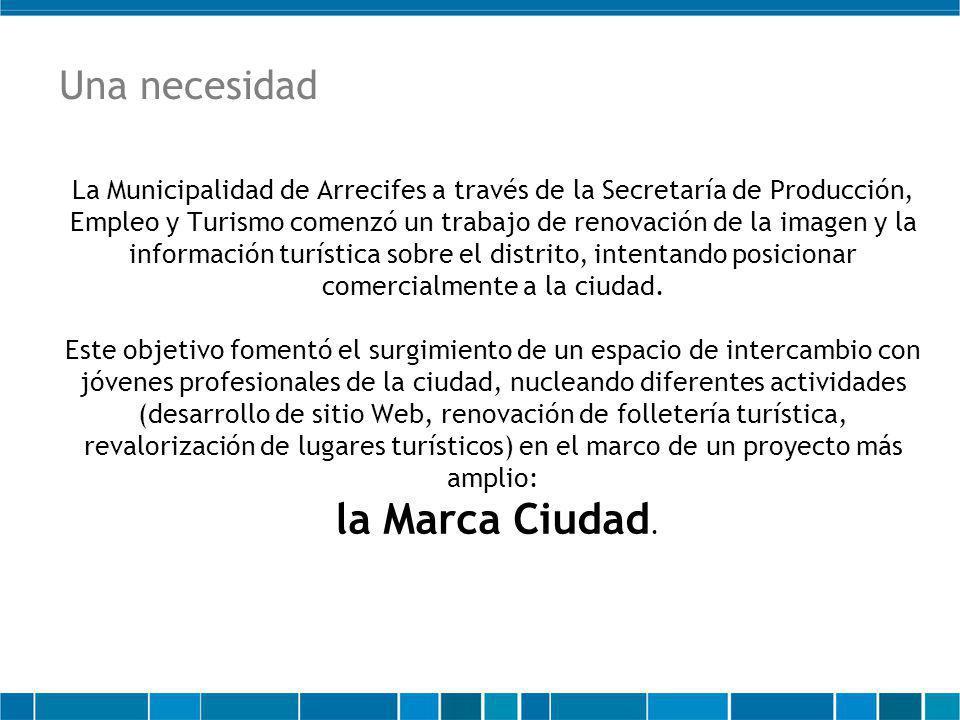 La Municipalidad de Arrecifes a través de la Secretaría de Producción, Empleo y Turismo comenzó un trabajo de renovación de la imagen y la información