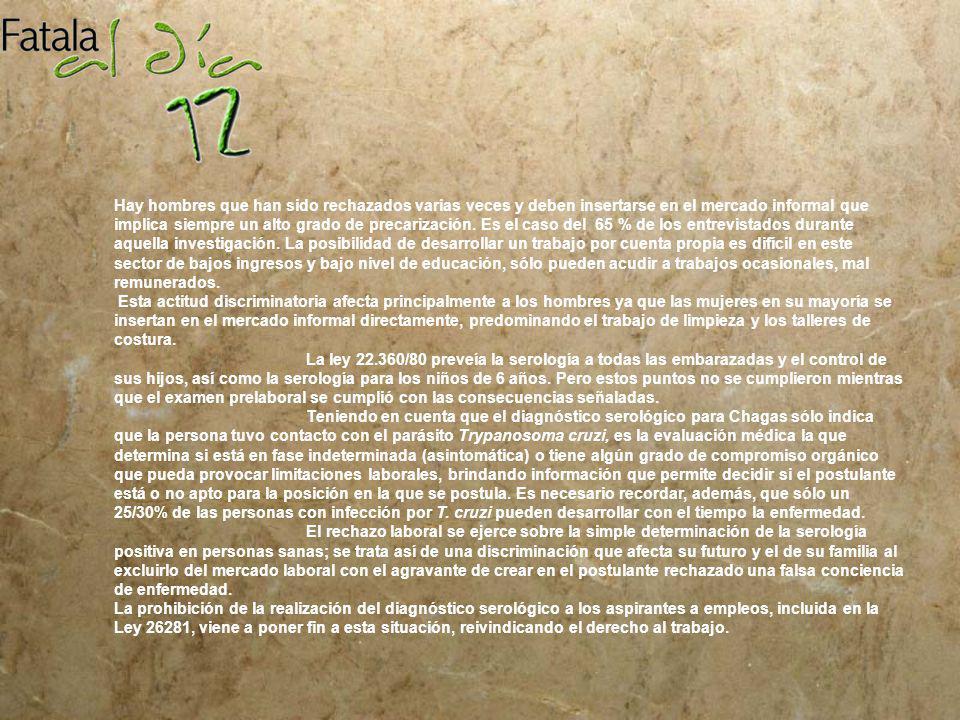 SALUD PUBLICA Ley 26.281 A continuaci ó n presentamos el texto de la ley publicada en el Boletin oficial N° 32.232 de fecha 5 de setiembre de 2007.