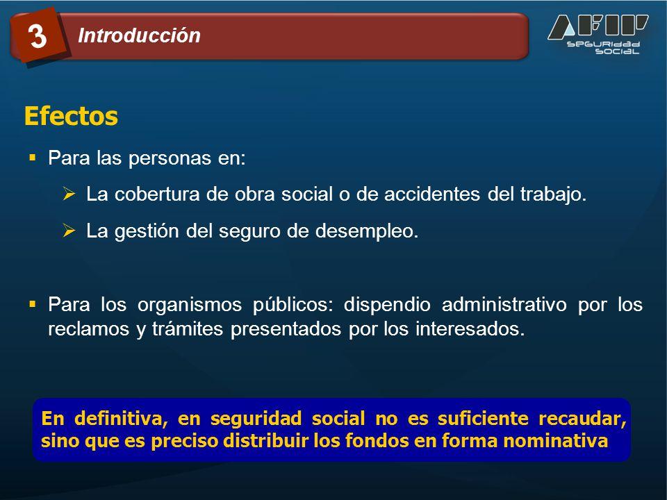 Para las personas en: La cobertura de obra social o de accidentes del trabajo. La gestión del seguro de desempleo. Para los organismos públicos: dispe