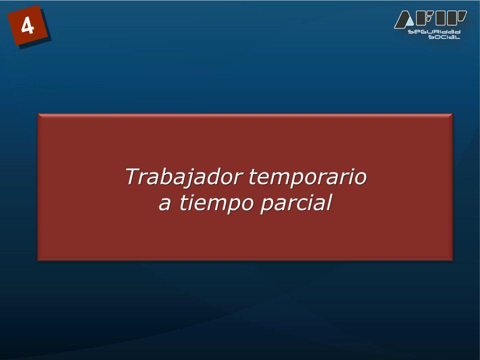 Trabajador temporario a tiempo parcial Trabajador temporario a tiempo parcial 4