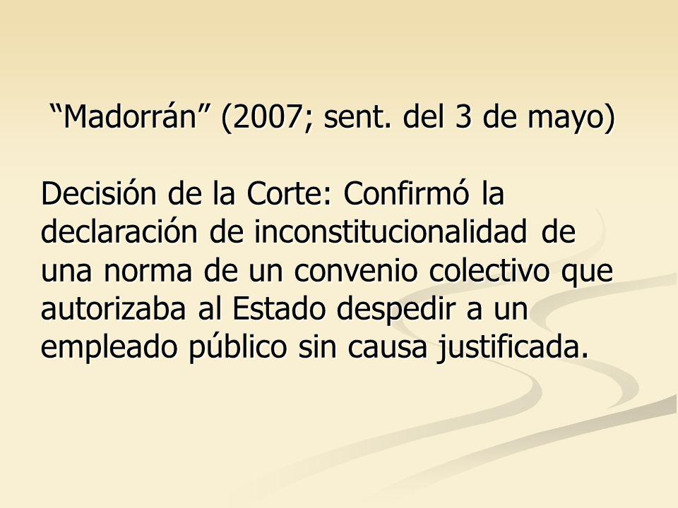Madorrán (2007; sent.