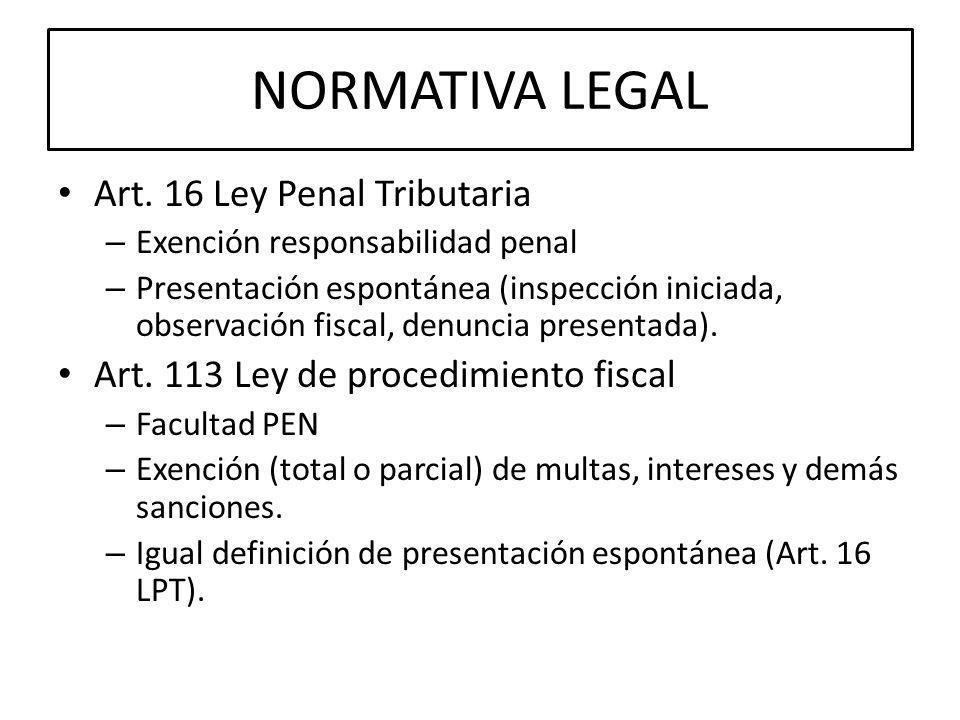 NORMATIVA LEGAL Art.