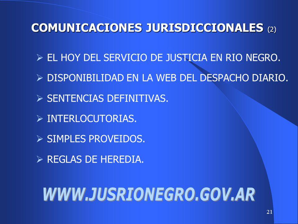 20 EL USO DE LOS MEDIOS ELECTRONICOS, INFORMATICOS Y TELEMATICOS. LA FIRMA DIGITAL. LAS NOTIFICACIONES. COMUNICACIONES JURISDICCIONALES COMUNICACIONES