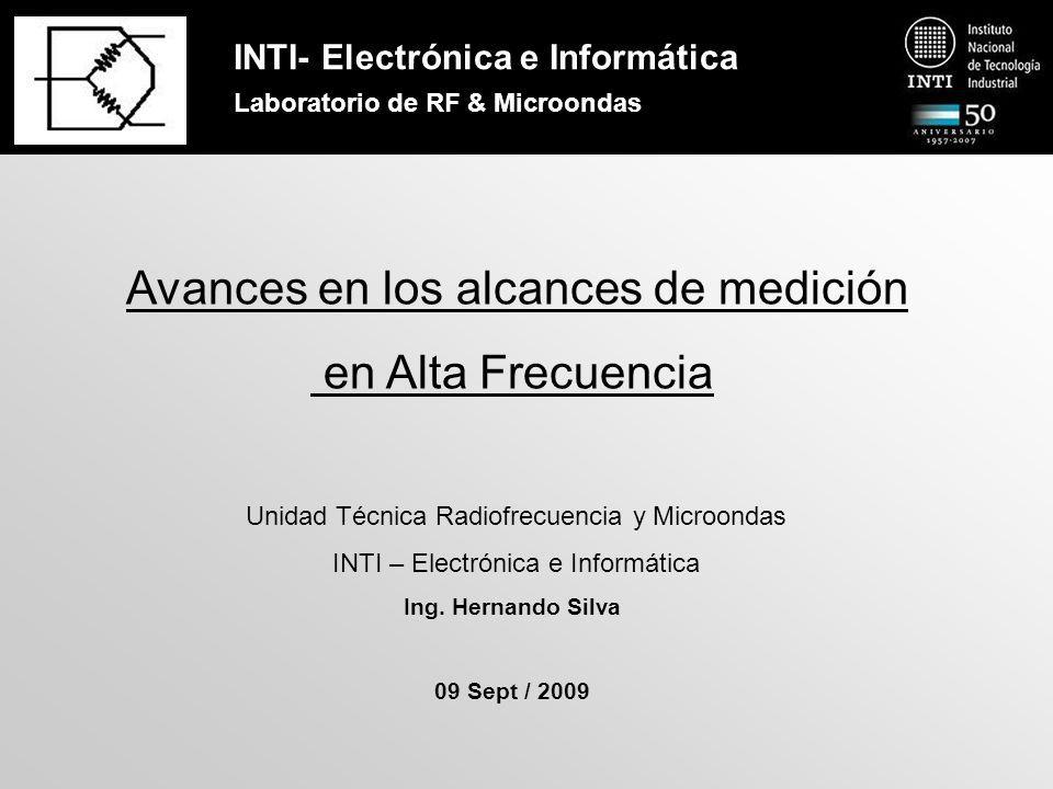 INTI- Electrónica e Informática Laboratorio de RF & Microondas Calibración del VNA Método TRL – Diagrama de flujo de señal