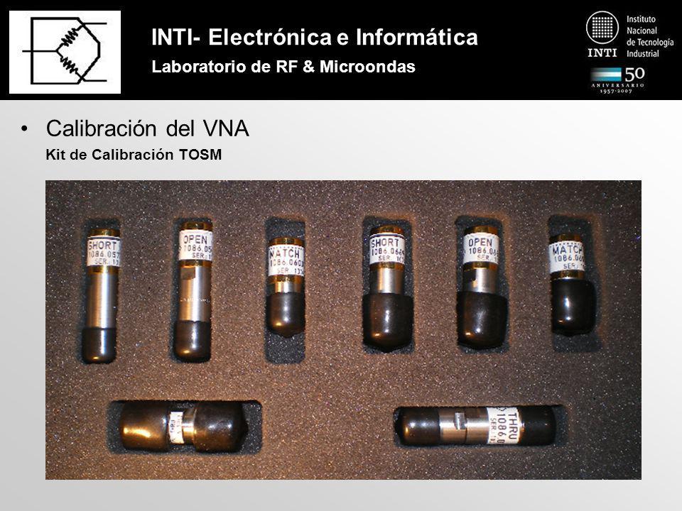 INTI- Electrónica e Informática Laboratorio de RF & Microondas Calibración del VNA Sliding Load