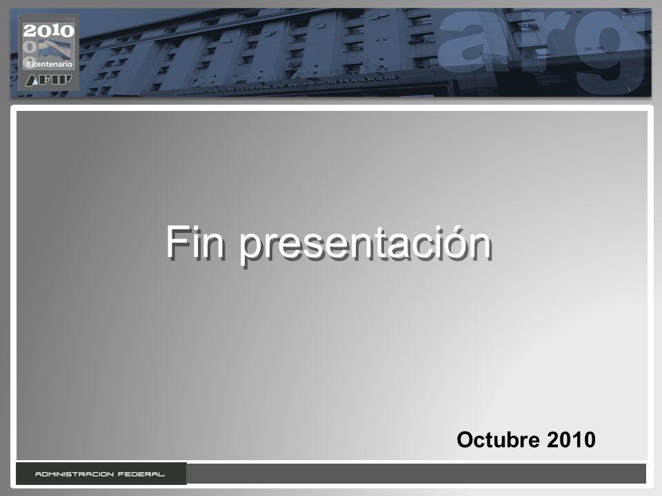 16 Fin presentación Octubre 2010