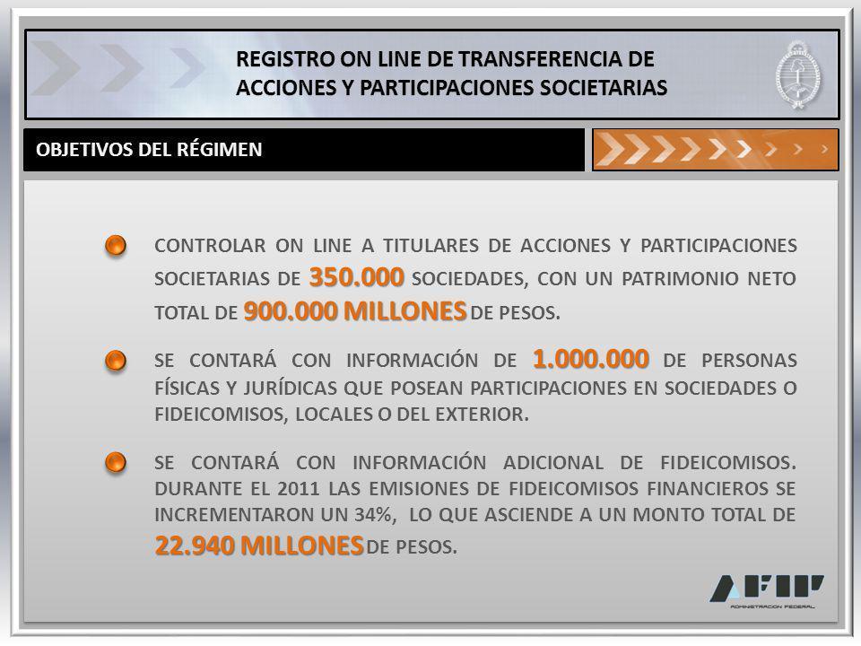 ESTA MODIFICACIÓN SE INFORMA EN JULIO DE 2013.