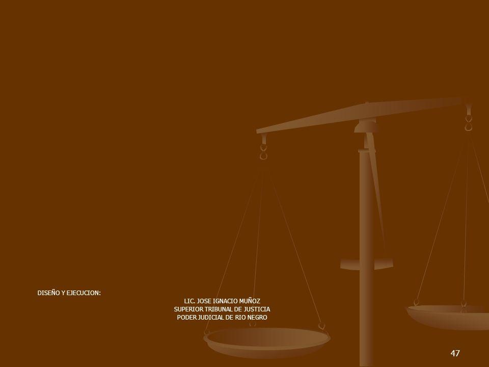 47 DISEÑO Y EJECUCION: LIC.