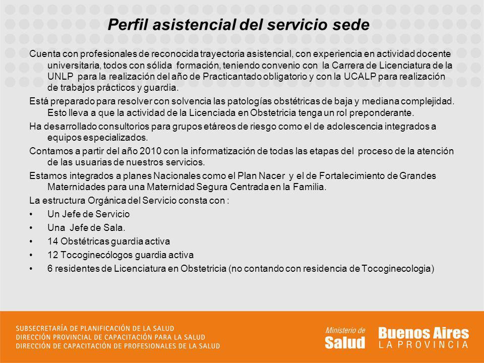 Perfil asistencial del servicio sede Cuenta con profesionales de reconocida trayectoria asistencial, con experiencia en actividad docente universitari