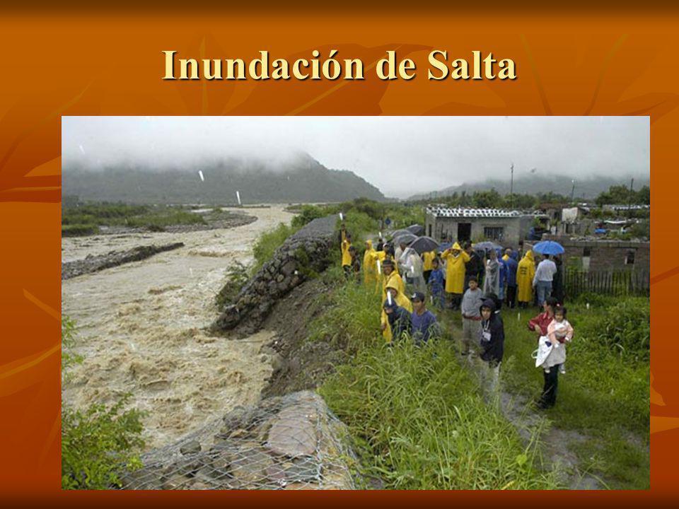 Inundación de Salta