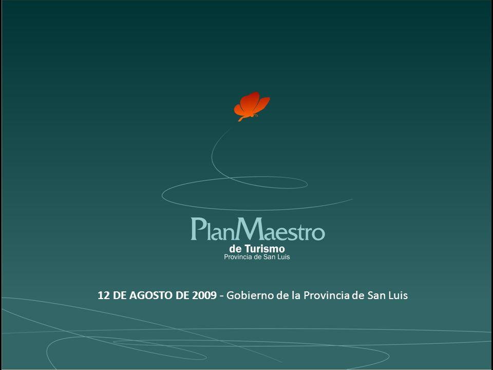 12 DE AGOSTO DE 2009 - Gobierno de la Provincia de San Luis