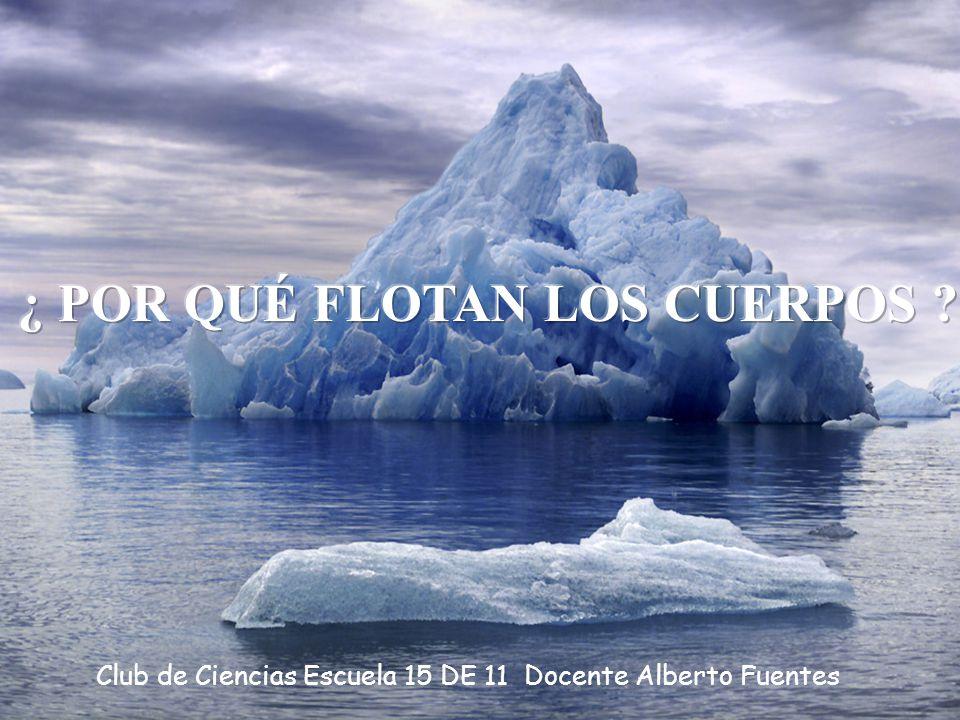 1 Club de Ciencias Escuela 15 DE 11 Docente Alberto Fuentes