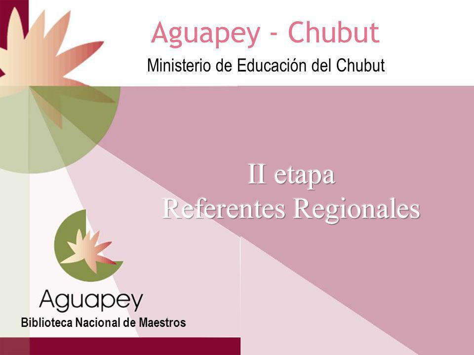 Los referentes provinciales de Aguapey ante la BNM, desarrollan un proyecto de capacitación que es aprobado por la Subsecretaría de Coordinación Técnica Operativa de Instituciones Educativas y Supervisión del Ministerio de Educación de la Provincia, por la Red Federal de Formación Docente y por la BNM quien financia la primer etapa de capacitación.