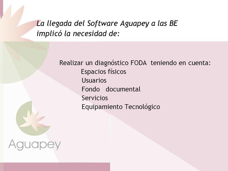 Diagnóstico para la reformulación Desarrollo de Servicios (boletines, alertas, préstamo, etc).
