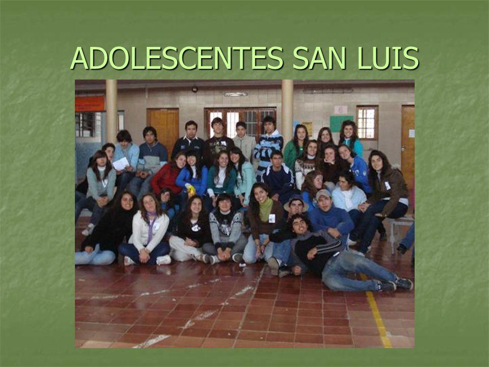 ADOLESCENTES SAN LUIS