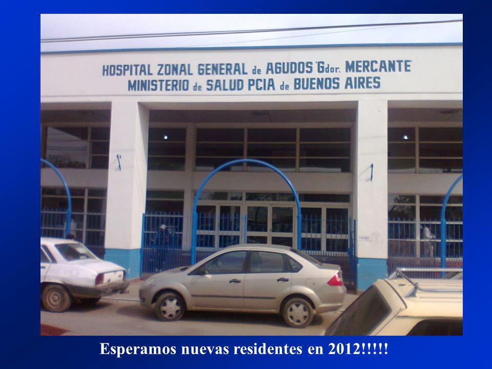Esperamos nuevas residentes en 2012!!!!!