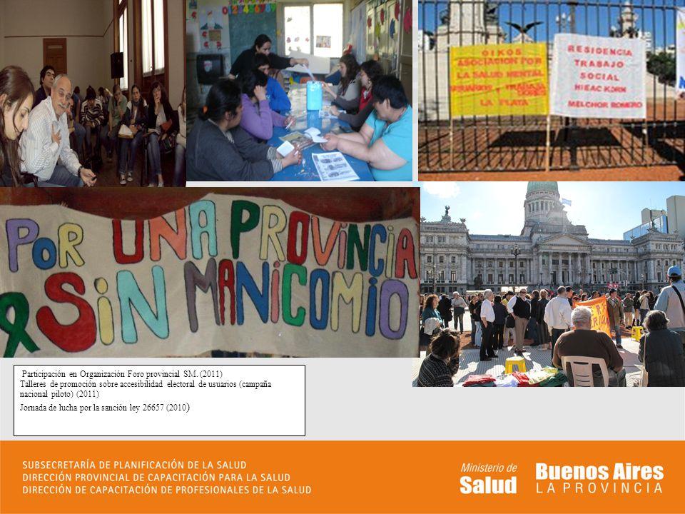 Participación en Organización Foro provincial SM.