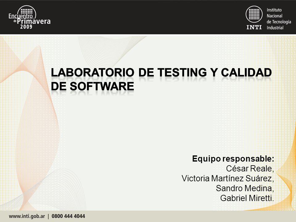 Equipo responsable: César Reale, Victoria Martínez Suárez, Sandro Medina, Gabriel Miretti.