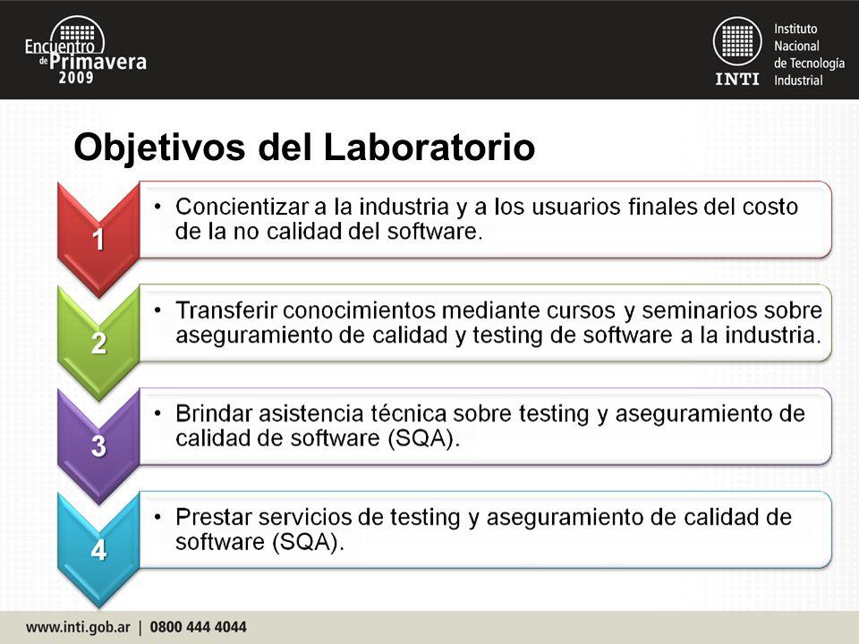 Objetivos del Laboratorio